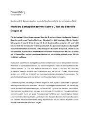 Pressemitteilung Modulare Spritzgießmaschine Systec C löst die ...