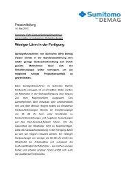 mehr (PDF) - Sumitomo (SHI)