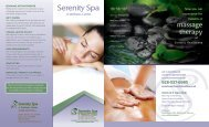 massage therapy - Summit Healthcare
