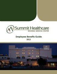Summit Healthcare Benefit Book 2013.indd