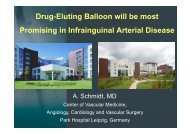 Drug-Eluting Balloon will be most Promising in ... - summitMD.com