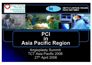 PCI in Asia Pacific Region - summitMD.com