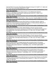 UA Ajani and ES Ford J Am Coll Cardiol (2006) 48 ... - summitMD.com