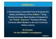 ZOMAXX I - summitMD.com