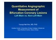 Quantitative Angiographic Measurement of ... - summitMD.com