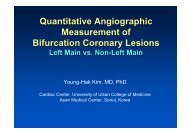 Quantitative Angiographic Measurement of ... - summitMD.com