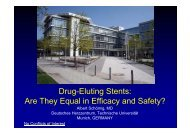 Drug-Eluting Stents: Are They Equal in Efficacy ... - summitMD.com