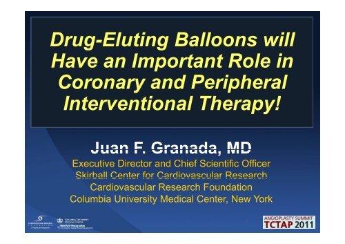 Drug Eluting Balloons will Drug-Eluting Balloons ... - summitMD.com