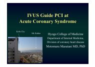 IVUS Guide PCI at Acute Coronary Syndrome - summitMD.com