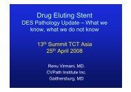 Drug Eluting Stent - summitMD.com