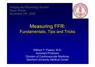 Measuring FFR: Measuring FFR: - summitMD.com