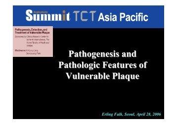 Pathogenesis and Pathologic Features of ... - summitMD.com
