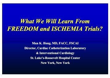 ischemia trial - summitMD.com