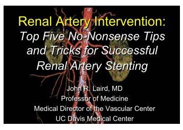 Renal Artery Intervention - summitMD.com