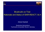 Bivalirudin on Trial: Rationale and Status of ISAR ... - summitMD.com