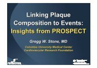 Linking Plaque Composition to Events: Insights ... - summitMD.com