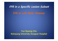 FFR in a Specific Lesion Subset - summitMD.com