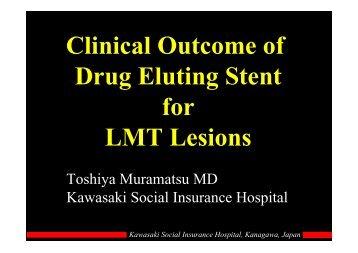 Kawasaki Social Insurance Hospital, Kanagawa ... - summitMD.com