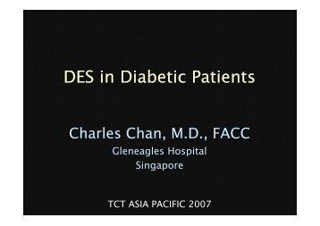 DES in Diabetic Patients - summitMD.com