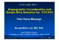 Angiographic Consideration and Simple Wire ... - summitMD.com