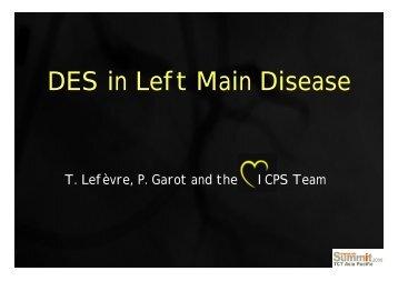 DES in Left Main Disease - summitMD.com