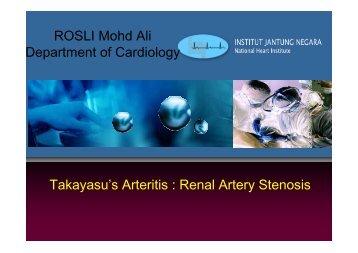 ROSLI Mohd Ali Department of Cardiology ... - summitMD.com