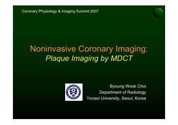 Noninvasive Coronary Imaging: - summitMD.com