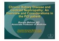 Chronic Kidney Disease and Contrast Nephropathy - summitMD.com