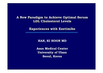 A New Paradigm to Achieve Optimal Serum LDL ... - summitMD.com