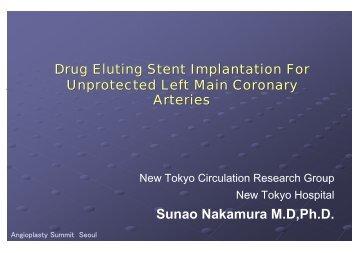 Drug Eluting Stent Implantation For Unprotected ... - summitMD.com