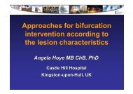 Approaches for bifurcation intervention according ... - summitMD.com