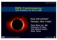 DES Controversy - summitMD.com