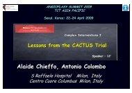 CACTUS trial - summitMD.com