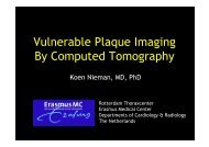 Vulnerable Plaque Imaging By Computed ... - summitMD.com