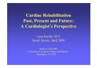 Cardiac Rehabilitation Past, Present and Future: A ... - summitMD.com