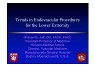 Trends in Endovascular Procedures for the Lower ... - summitMD.com