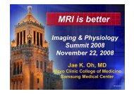 Cardiac MRI is better in - summitMD.com