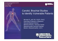 Carotid, Brachial Studies to Identify Vulnerable ... - summitMD.com