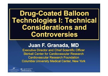 Drug Coated Balloon Drug-Coated Balloon ... - summitMD.com