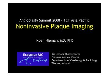 Noninvasive Plaque Imaging - summitMD.com