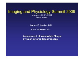 Imaging and Physiology Summit 2009 - summitMD.com