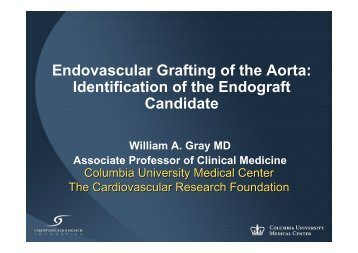 Endovascular Grafting of the Aorta: Identification of ... - summitMD.com