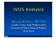 IVUS Analysis - summitMD.com
