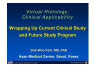 Virtual Histology; Clinical Applicability Wrapping ... - summitMD.com