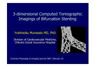 3-dimensional Computed Tomographic Imagings ... - summitMD.com