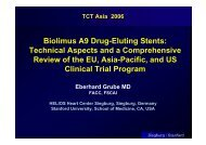 Biolimus A9 Drug-Eluting Stents: Technical ... - summitMD.com