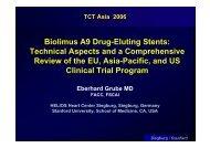 Biolimus A9 Drug-Eluting Stents: Technical ... - summitMD.com