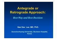 Antegrade or Retrograde Approach: - summitMD.com