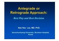 Antegrade or Retrograde Approach: - summitMD.com