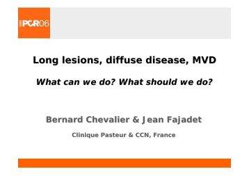 Long lesions, diffuse disease, MVD - summitMD.com